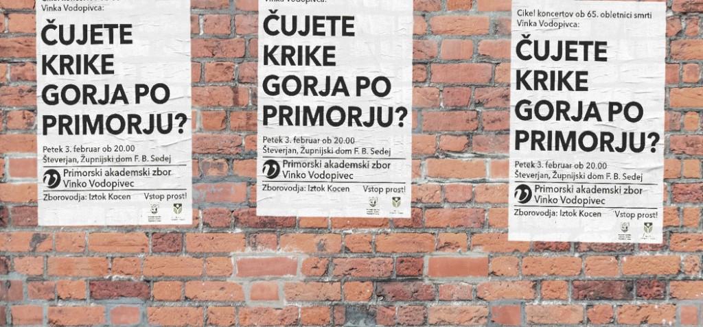 Koncert Primorski akademski zbor Vinko Vodopivec